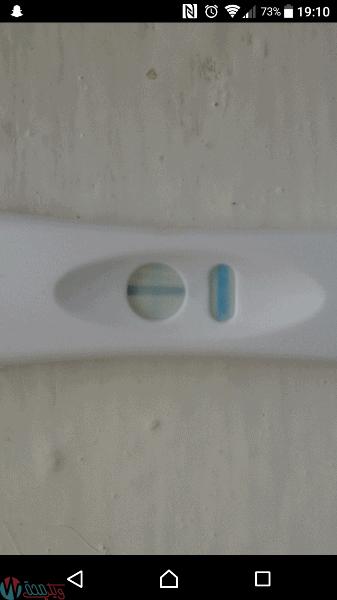 ظهور خط باهت في اختبار الحمل و الفرق بين الايجابي والسلبي! 19