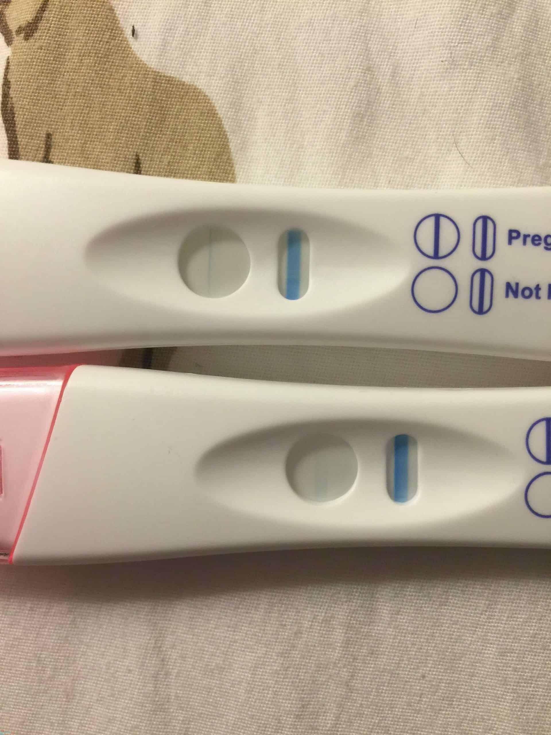 ظهور خط باهت في اختبار الحمل و الفرق بين الايجابي والسلبي! 18