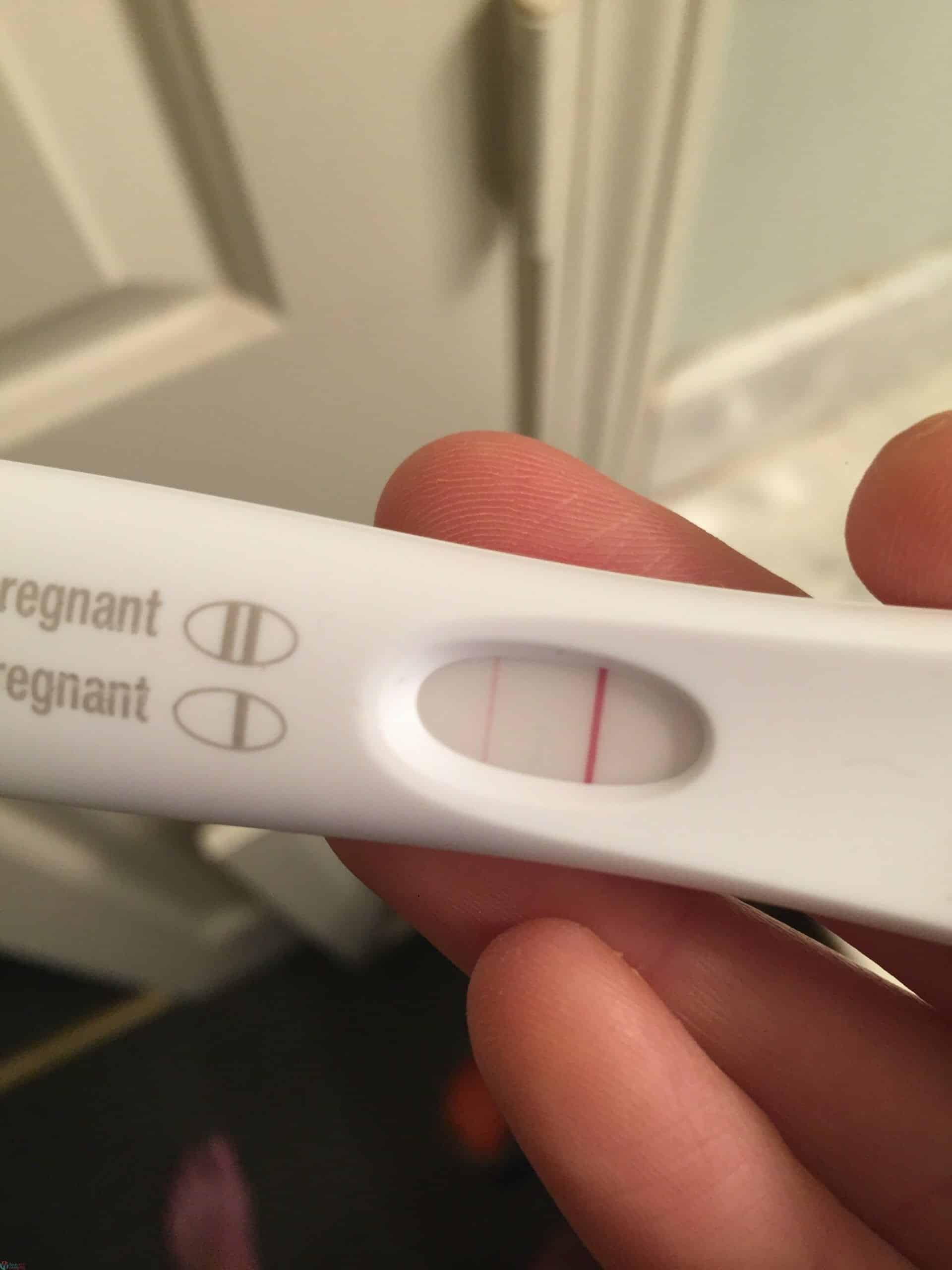 ظهور خط باهت في اختبار الحمل و الفرق بين الايجابي والسلبي! 17