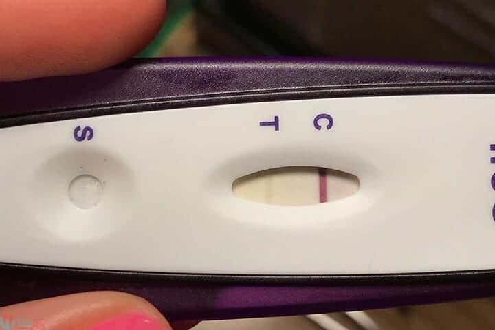 ظهور خط باهت في اختبار الحمل و الفرق بين الايجابي والسلبي! 16