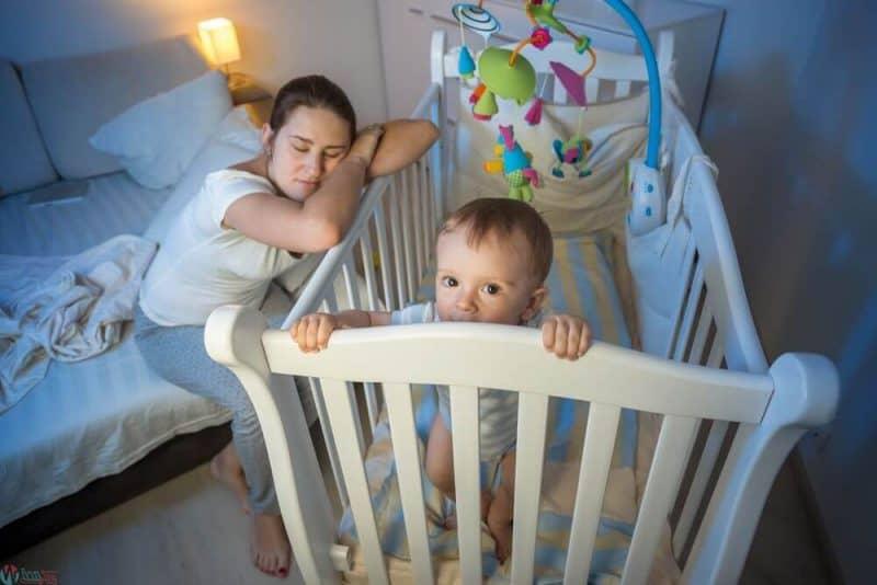 اسباب وعلاج قلة نوم الرضع والاطفال بالتفصيل
