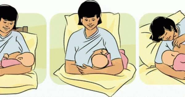 10 نصائح للإرضاع من الثدي الكبير 9